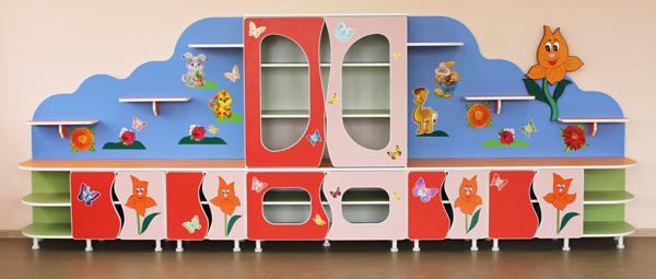 Мебель для детских садов от производителя.